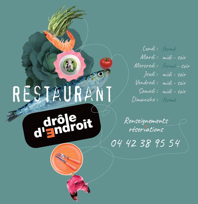 Le Drôle d'Endroit - Restaurant - Aix en Provence